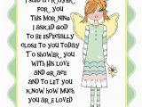 Prayer for Birthday Girl Items Similar to Custom Designed Note Card Friend