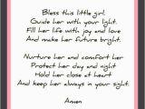 Prayer for Birthday Girl Little Girl Prayer Prayers Angel Prayers
