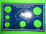 Pre Made Birthday Cards Australian Pre Decimal 6 Coin Set Card Only Make Your Own