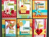 Pre Made Birthday Cards Pre Made Card Making Kits All You Do is Put them together