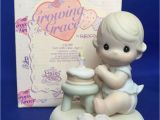 Precious Moments Birthday Girl Figurines Growing In Grace Age 1 Precious Moments Figurine 1st