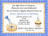 Prince 1st Birthday Invitations Prince Birthday Party Invitations Prince 1st Birthday