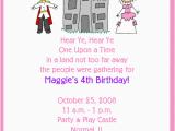 Prince and Princess Birthday Party Invitations Princess Prince Birthday Party Invitations