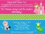 Prince and Princess Birthday Party Invitations Printable Birthday Invitations Twins Boy Girl Princess