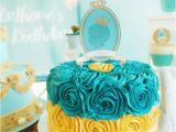 Prince Decorations for Birthday Kara 39 S Party Ideas Royal Prince 1st Birthday Party Via