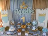 Prince Decorations for Birthday Prince Birthday Party Ideas Photo 1 Of 15 Catch My Party