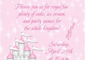 Princess 1st Birthday Invitation Wording 1st Birthday Princess Invitation Wording Jin S Invitations