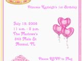 Princess 1st Birthday Invitation Wording 1st Pink Princess Birthday Party Invitations