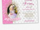 Princess 1st Birthday Invitation Wording Princess Invitation Princess Birthday Princess Birthday
