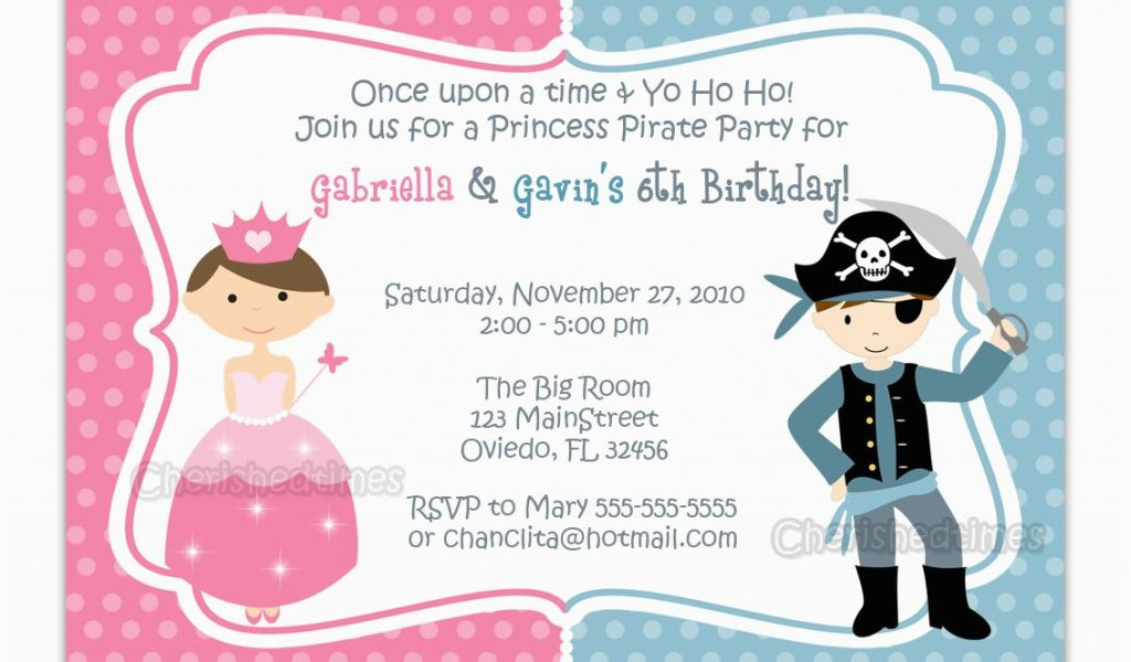 Download By SizeHandphone Tablet Desktop Original Size Back To Princess And Pirate Birthday Party Invitations