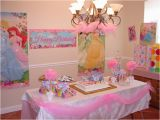 Princess Birthday Party Table Decorations Birthday Cake Table Decorations with Balloons the House