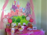Princess Birthday Party Table Decorations Disney Princess Birthday Party Ideas Food Decorations