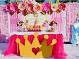Princess Decoration Ideas for Birthday Kara 39 S Party Ideas Pink Royal Princess Birthday Party