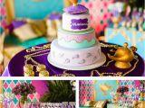 Princess Jasmine Birthday Decorations Kara 39 S Party Ideas Princess Jasmine Birthday Party Kara