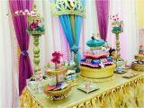 Princess Jasmine Birthday Party Decorations Princess Jasmine Aladdin Baby Shower Party Ideas Niah