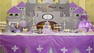 Princess sofia Birthday Party Decorations Princess sofia Birthday Party Ideas Photo 1 Of 36