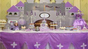 Princess sofia Birthday Party Decorations Princess sofia Birthday Party Ideas Photo 1 Of 36