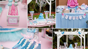 Princess themed Birthday Party Decorations Kara 39 S Party Ideas Disney Princess Cinderella Girl 1st