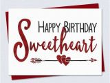 Print A Birthday Card for Wife Happy Birthday Romantic Cards Printable Free for Wife