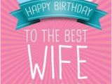 Print A Birthday Card for Wife Happy Birthday to My Wife