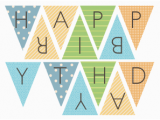 Print A Happy Birthday Banner Free Birthday Banner Girls Printables Google Kereses