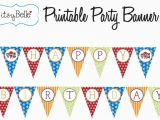 Print A Happy Birthday Banner Free Free Printable Happy Birthday Banner Templates