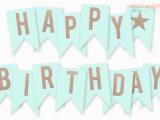 Print A Happy Birthday Banner Free Printable Happy Birthday Banner Birthday Ideas