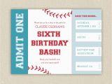 Print Birthday Invitations at Home Free Free Printable Baseball Birthday Party Invitations Home