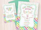 Print Birthday Invitations at Home Free Printable Sprinkle Birthday Invitations Free Thank You