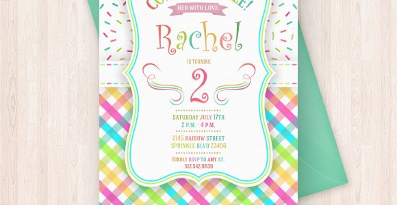 Print Birthday Invitations at Home Free Printable Sprinkle Birthday Invitations Free Thank You
