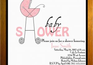 Print Birthday Invitations at Walmart Photo Customized Printable Baby Shower Image