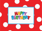Print Free Birthday Cards 41 Best Cute Happy Birthday Printable Cards