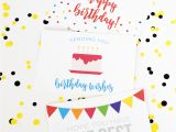 Print Free Birthday Cards Free Birthday Printables Eighteen25