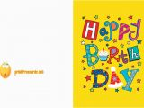 Print Out A Birthday Card Printable Birthday Card Free Birthday Cards Free