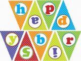 Print Your Own Happy Birthday Banner Happy Birthday Banner Fiesta Print Your Own