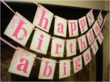 Print Your Own Happy Birthday Banner Items Similar to Happy Birthday Banner Customized with