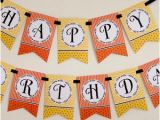 Print Your Own Happy Birthday Banner Items Similar to Happy Birthday Banner Fiesta Print Your