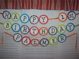 Print Your Own Happy Birthday Banner Make Your Own Birthday Banner 1st Birthday Birthdays