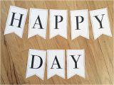 Print Your Own Happy Birthday Banner Printable Classic Alphabet Banner Pennants Birthday