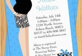 Print Yourself Birthday Invitations Blue Tummy Baby Shower Invitation Print Yourself by