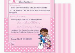 Print Yourself Birthday Invitations Doc Mcstuffin 5×7 Printable Print Yourself by