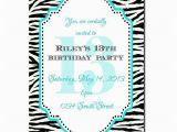 Printable 13th Birthday Invitations 13th Birthday Party Invitation Girl Birthday Invitation