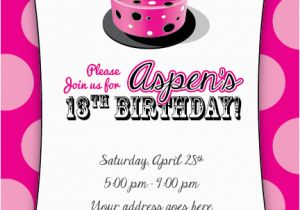 Printable 13th Birthday Invitations 7 Best Images Of Free