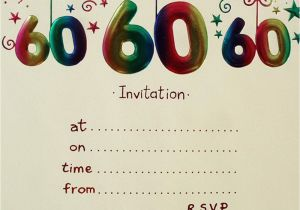 Printable 60th Birthday Invitations 20 Ideas 60th Birthday Party Invitations Card Templates