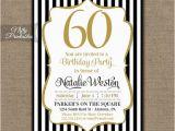 Printable 60th Birthday Invitations 60th Birthday Invitations Black Gold Glitter 60 Bday