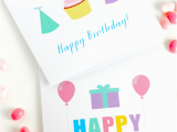 Printable Adult Birthday Cards 5 Best Images Of Free Printable Teacher Birthday Cards