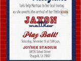 Printable Baseball Ticket Birthday Invitations Custom Printable Baseball Ticket Invitation by Joyinvitations