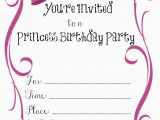 Printable Birthday Card Invitations Free Printable Birthday Invitations Free Printable