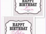 Printable Birthday Cards for Husband 6 Best Images Of Mommy Free Printable Birthday Cards