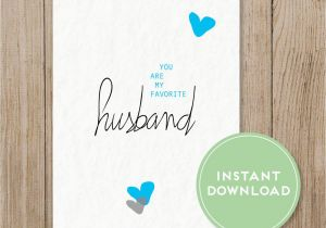Printable Birthday Cards For Husband Favorite Card Valentine